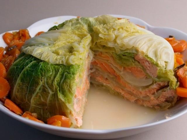 Chou farci au saumon : Des saveurs agréables pour le palais !