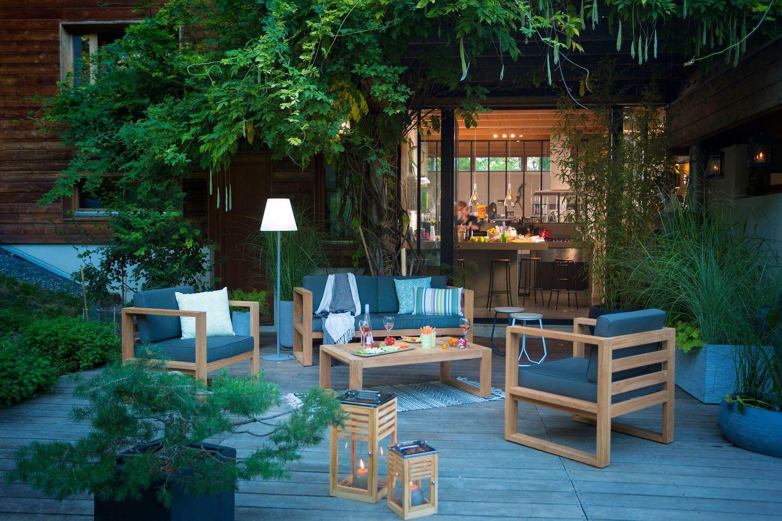 Faire de sa terrasse de jardin un lieu convivial et chaleureux ?