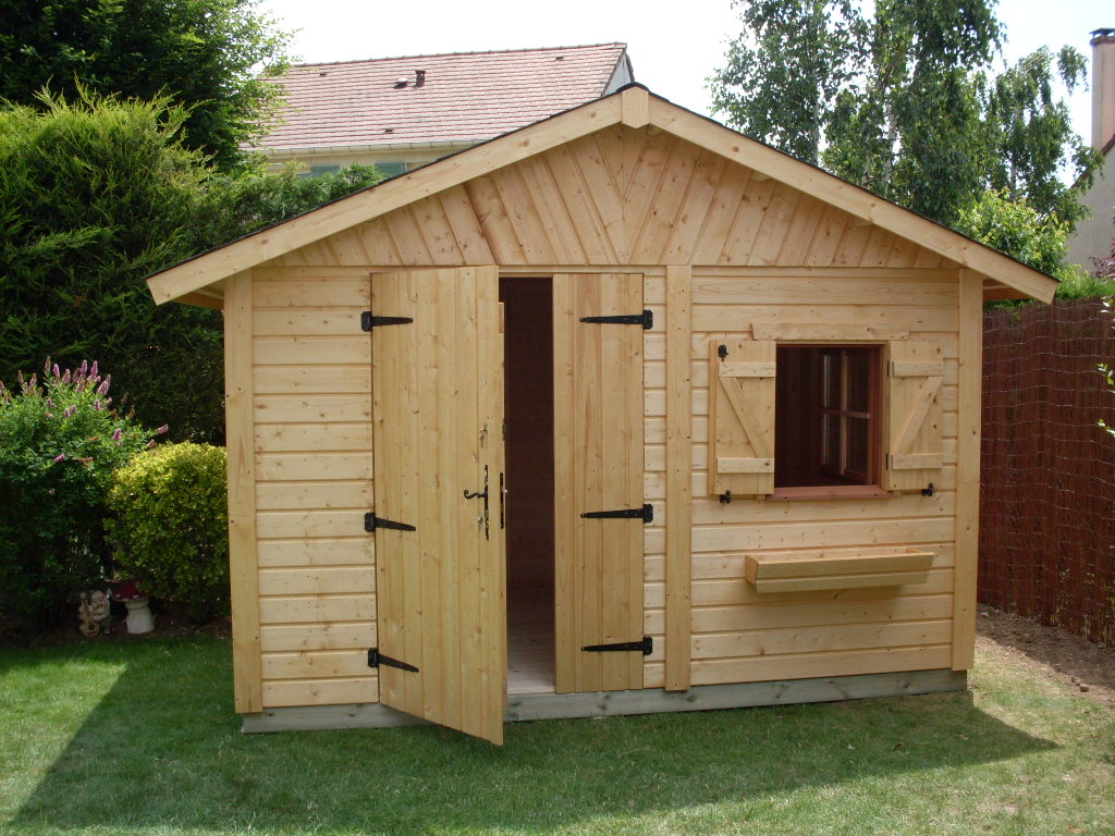 Construire un abri de jardin en bois
