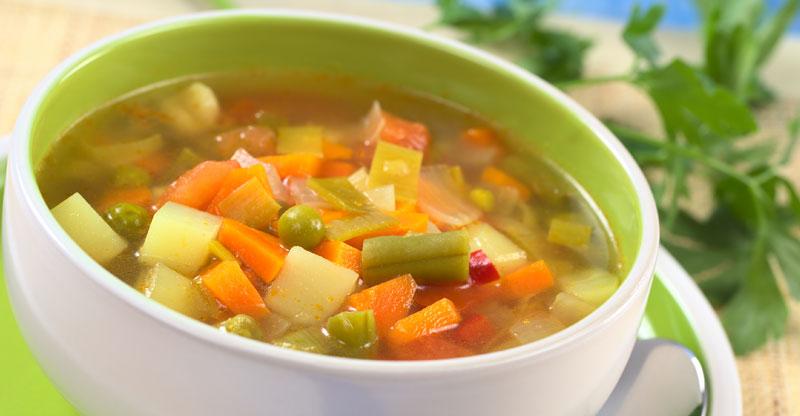 Concoctez une bonne soupe avec les légumes de votre potager